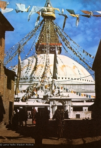 Boudhanath Stupa  in the 1960s