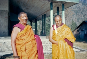 Geshe Rabten and Lama Yeshe, 1970