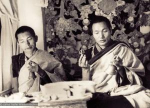 Lama Zopa Rinpoche  and Lama Yeshe, 1970