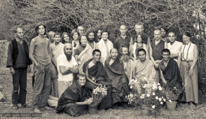 First Meditation Course, Kopan Monastery, 1971