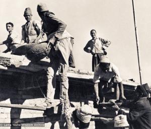 Lama Yeshe as foreman, 1972