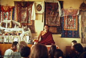 Lama Yeshe teaching, Kopan, 1973