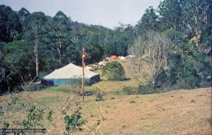 The gompa at Diamond Valley, 1974