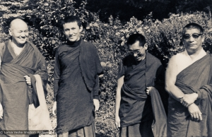 1975 Geshe Rabten in Switzerland