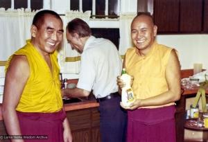 Geshe Sopa and Lama, 1975
