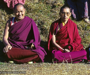 Lama and Rinpoche, 1975