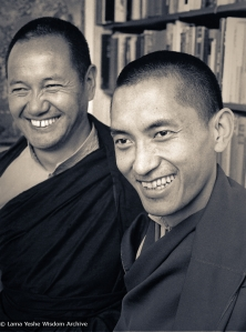 Lama and Rinpoche, New Zealand, 1975