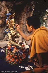 Rinpoche painting Tara, 1976