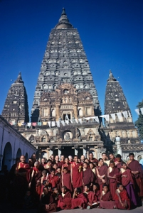 MEC students in Bodhgaya, India, 1974