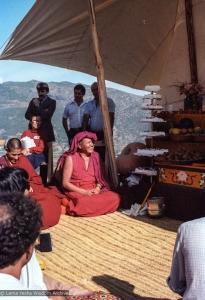 Lama Yeshe and Geshe Losang Tsultrim, 1982