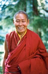 Geshe Tsering at Tushita, 1979