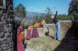 12th Meditation Course, 1979,  Kopan Monastery, Nepal