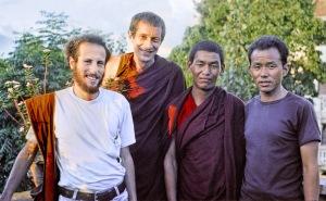1978, 1979, Adrian Feldmann (Thubten Gyatso), Chombey, Karuna Cayton, Kathmandu, Kopan Monastery, Nepal