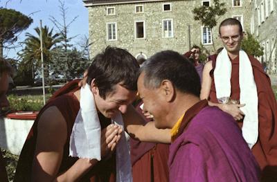 Lama with Fabrizio Pallotti, 1983