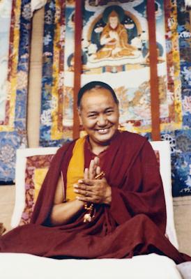 Lama Yeshe, Kopan, 1980