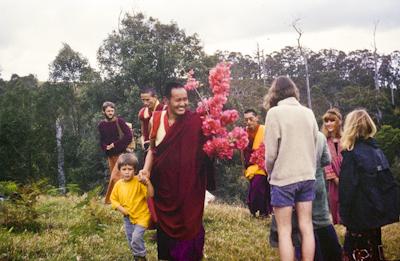 Procession to Eudlo, 1974