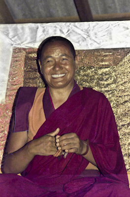 Lama Yeshe teaching, 1975