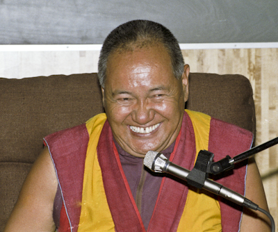Lama Yeshe in Sweden, 1983
