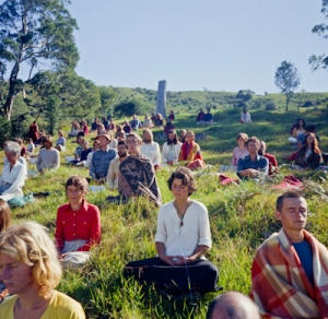 Meditation at Chenrezig Institute, 1975